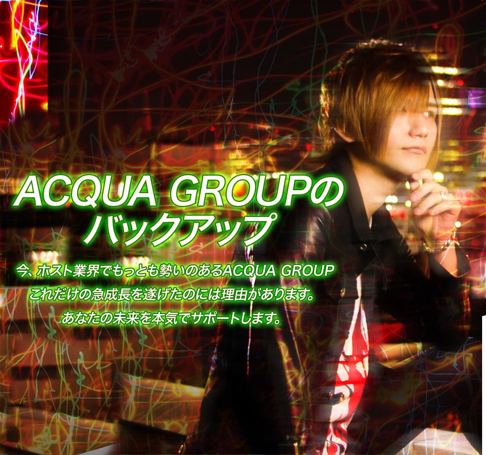 ACQUA GROUPのバックアップ